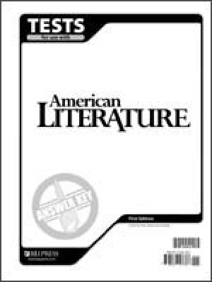American Literature Tests Answer Key Grade 11 2nd Edition
