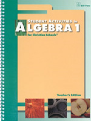 Algebra 1 Student Activities Teacher