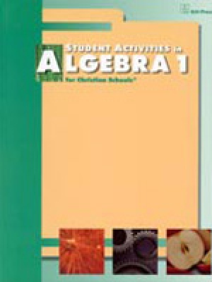 Algebra 1 Student Activities 2nd Edition
