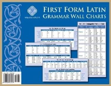First Form Latin Grammar Chart