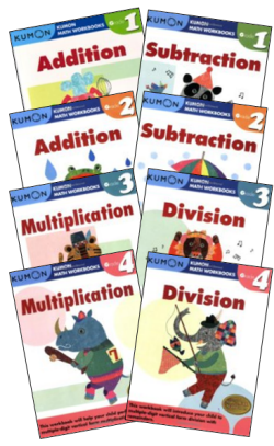 Math Workbook Series Bundle