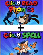 SAVE BIG on ClickN READ + ClickN SPELL
