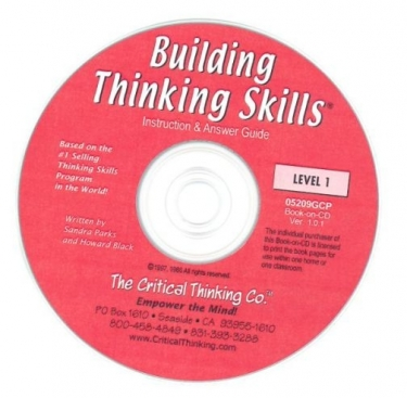 Building Thinking Skills Bk 1