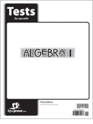 Algebra 1 Test Grd 9 3rd Ed