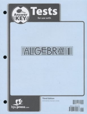 Algebra 1 Answr Key Grd 9