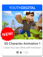 3D Character Animation 1 for Minecraft - BOGO or Save 40% + Get 1,000 SmartPoints