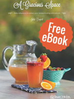 FREE eBook - A Gracious Space: Spring Edition (Value $9.95) by Julie Bogart