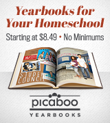 Picaboo Yearbooks for Homeschoolers
