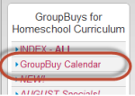 GroupBuy Calendar