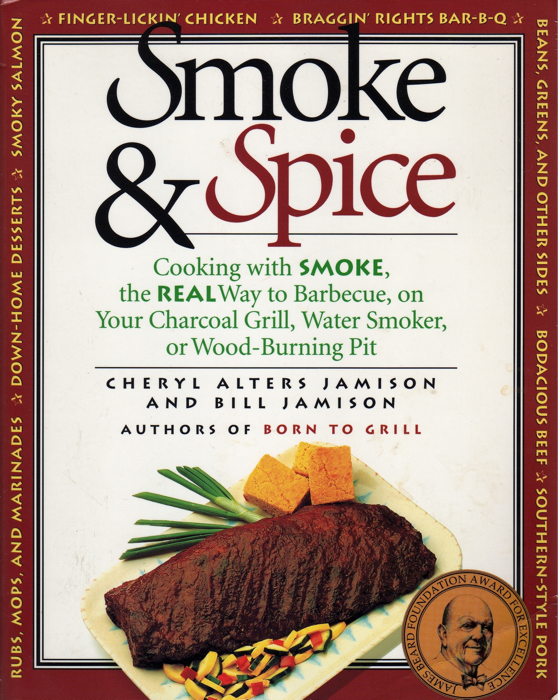 Smoke and Spice Smoker Cookbook Front