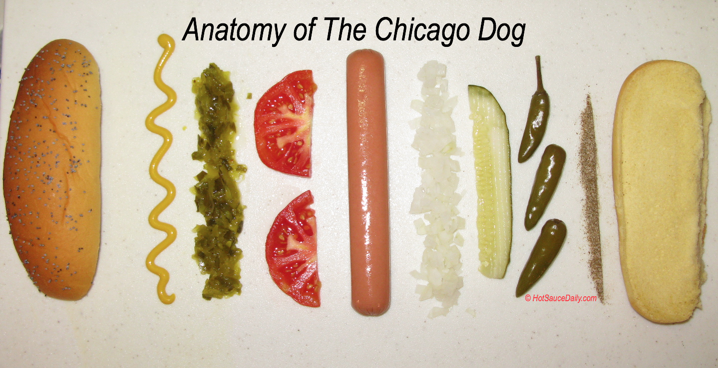 Make A Chicago Dog At Home