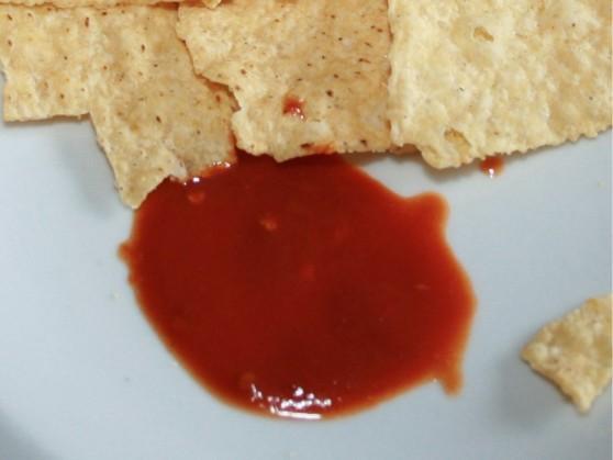 Great White Shark Predator Hot Sauce Closeup
