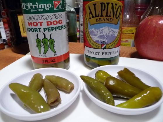 IL Primo and Alpino sport peppers