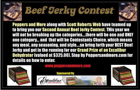 Beef Jerky Contest 2011 from PeppersandMore.com