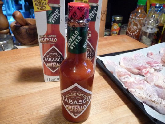 Tabasco Buffalo Style Sauce Bottle