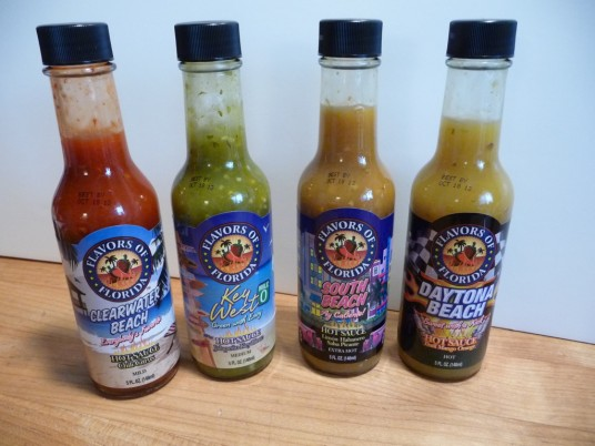 Flavors of Florida 4 Sauces