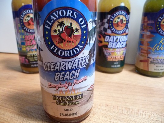 Clearwater Beach mild hot sauce