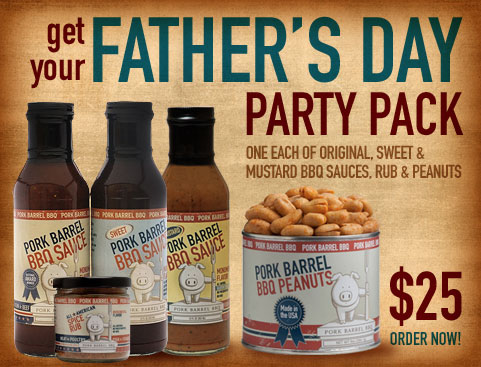 Pork Barrel Fathers Day Gift Pack