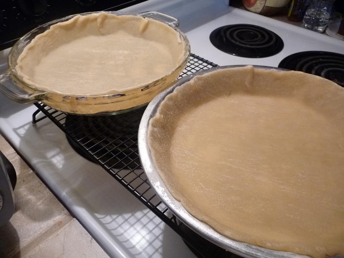 Par bake pie crust for 3 minutes