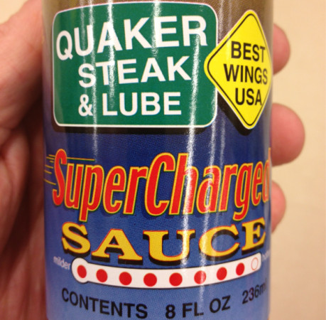 Quaker Steak super charged wing sauce