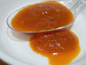 Holy Alimony Hot Sauce closeup