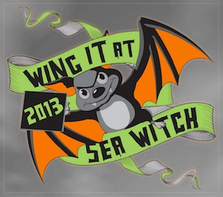 Wing it at Sea Witch