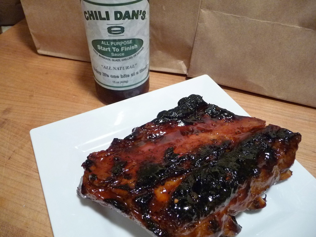 Chili Dan's on ribs