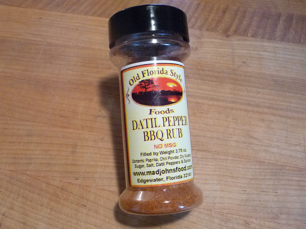 Old Florida Style Datil Pepper BBQ Rub