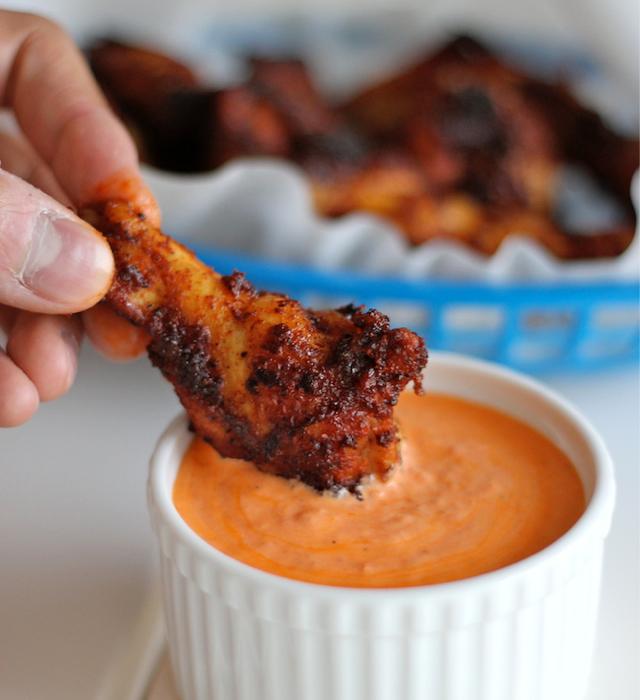 brown sugar wings recipe