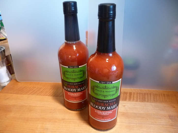 Powell & Mahoney Sriracha Bloody Mary Mix Bottles