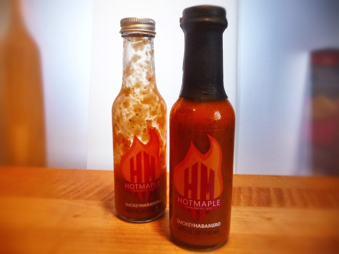 hot maple smokey habanero sauce