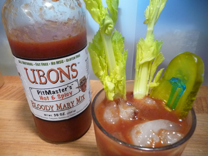 ubons hot and spicy bloody mary mix