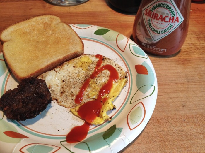 Tabasco Sriracha on eggs is another classic use of sriracha. Check out our post on HotSauceDaily.com