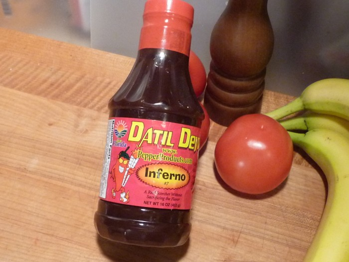 Datil Dew Inferno 16 oz bottle