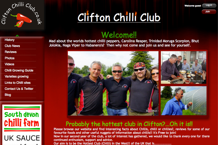 Clifton Chilli Club Live Stream on YouTube