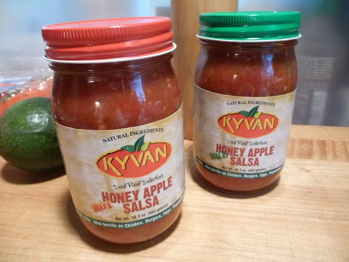 kyvan apple salsa mild hot