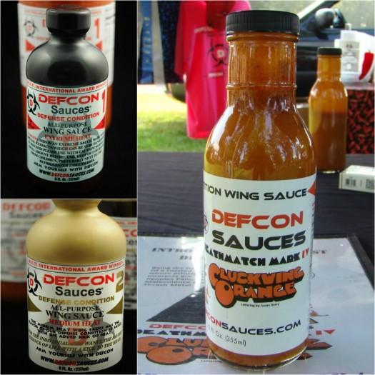 defcon wing sauce trio