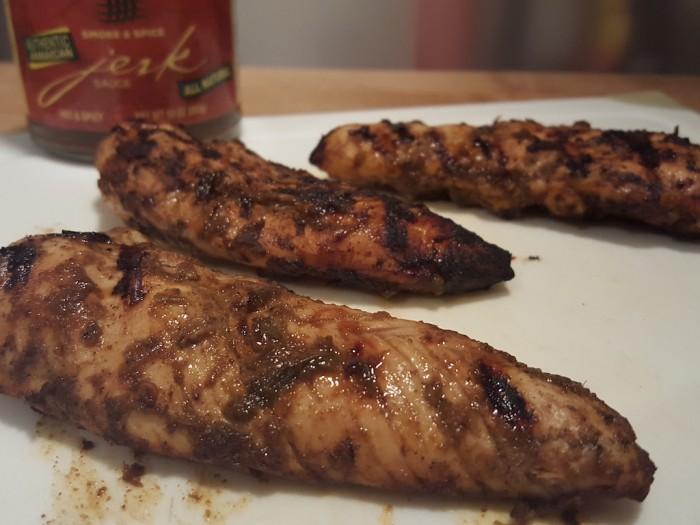 Smoke & Spice Jerk Sauce on Chicken Tenders