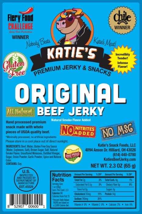 Katie's Beef Jerky