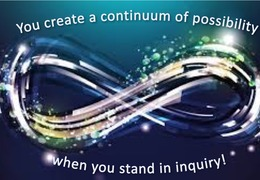 Continuum of possibilities