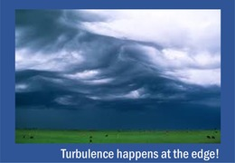 Turbulence happens at the edge