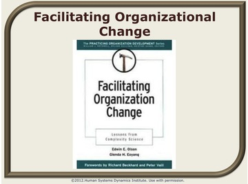 Facilitating org change?1377904539