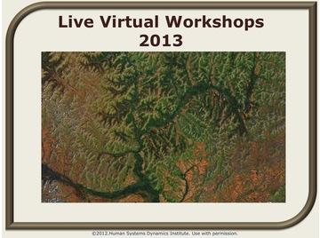 Live virtual workshops 2013