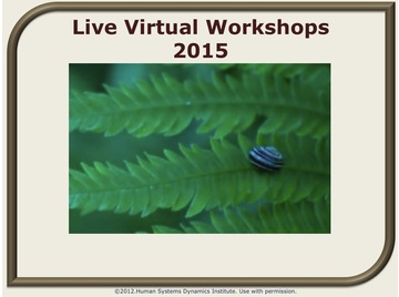Live virtual workshops 2015