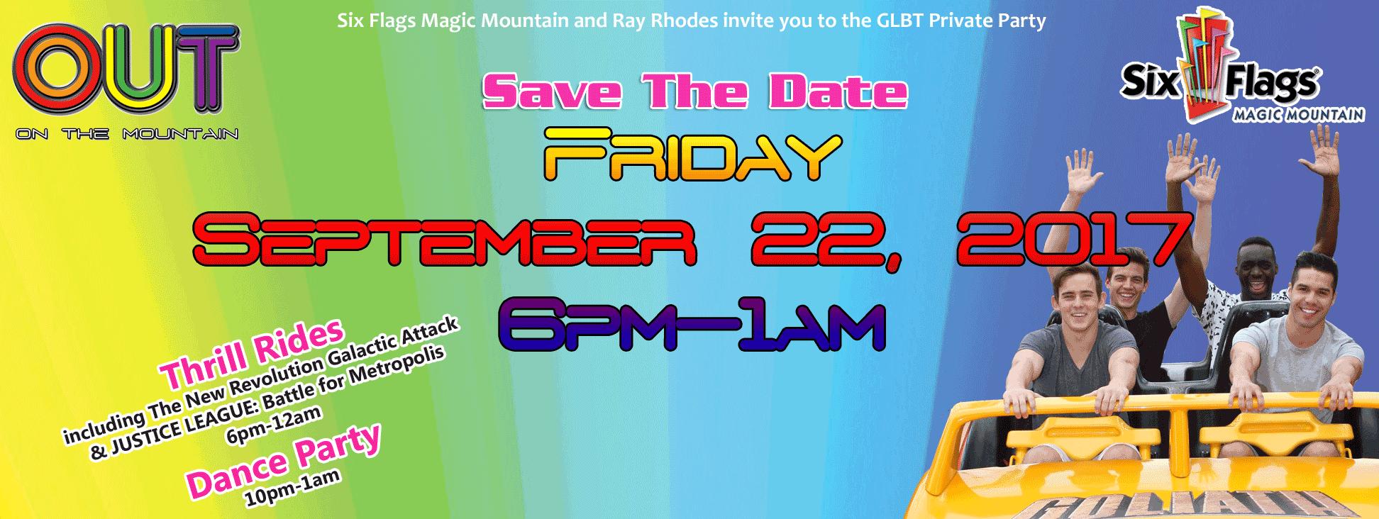 Gay Night At Magic Mountain Los Angeles Ca Usa
