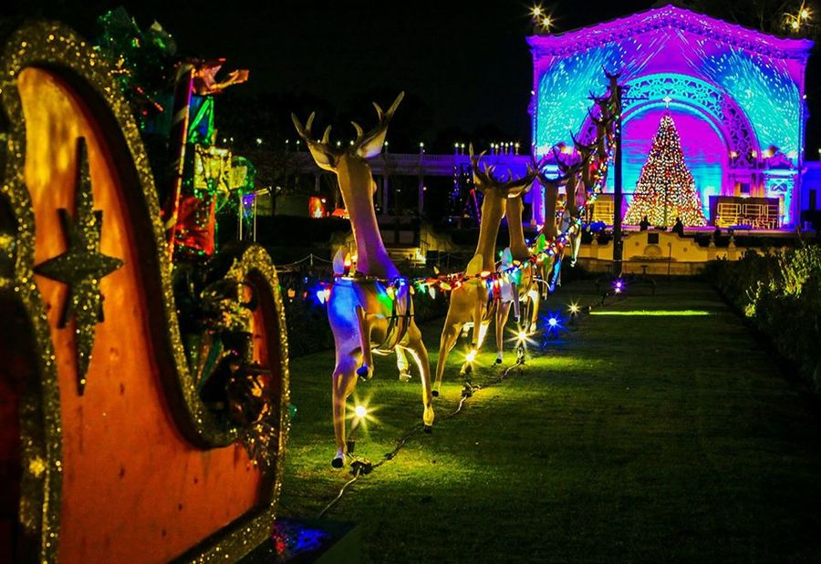 Image result for balboa park december nights