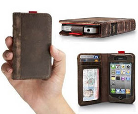 BookBook Leather iPhone 4 Wallet