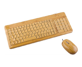 Bamboo Keyboard + Mouse