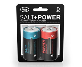 Salt and Pepper Batteries