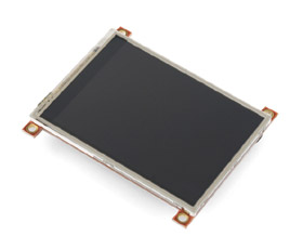 3.2-inch TFT LCD with Touchscreen